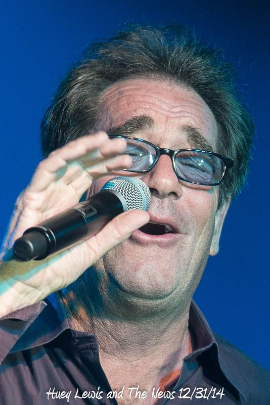 Huey Lewis and The News 12/31/14