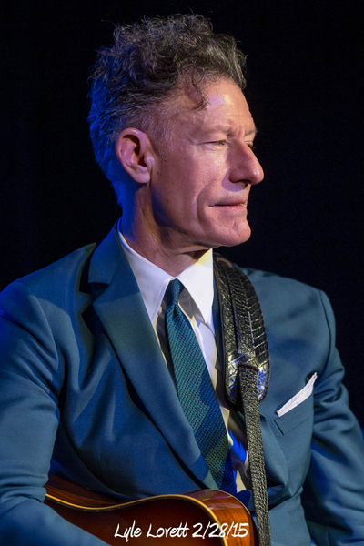 Lyle Lovett 2/28/15