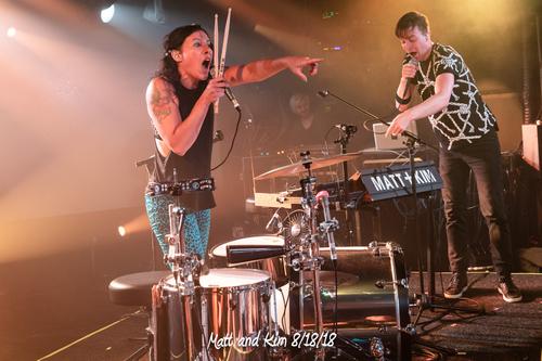 Matt & Kim 8/18/18