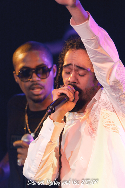 Damian Marley and Nas 8/5/09