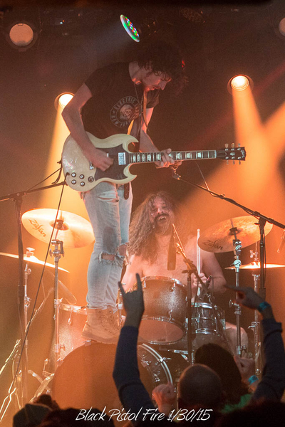 Black Pistol Fire 1/30/15