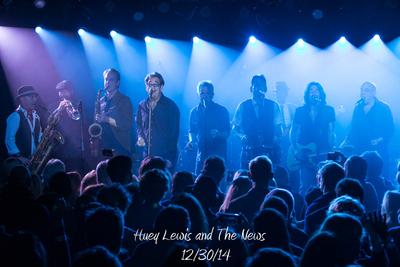 Huey Lewis and The News 12/30/14