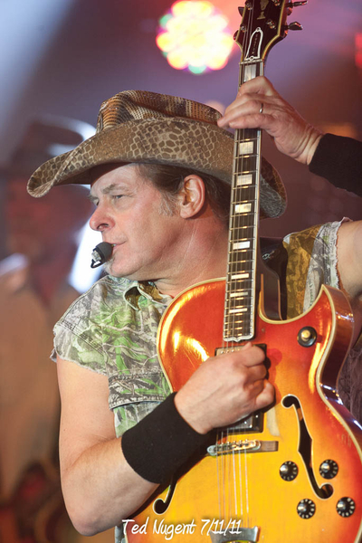 Ted Nugent 7/11/11