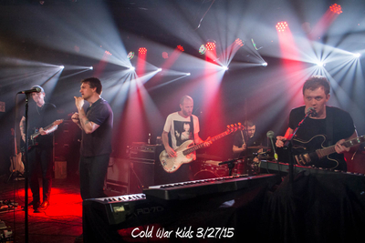 Cold War Kids web 3/27/15