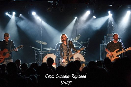 Cross Canadian Ragweed 1/4/09