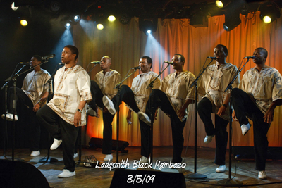 Ladysmith Black Mambazo 3/5/09