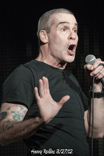 Henry Rollins 3/27/12