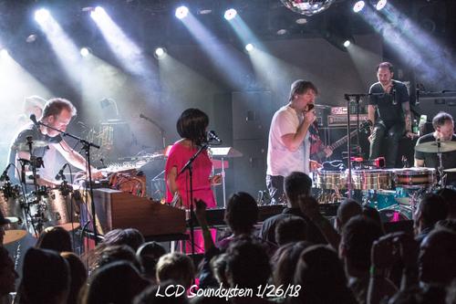 LCD Soundsystem 1/26/18