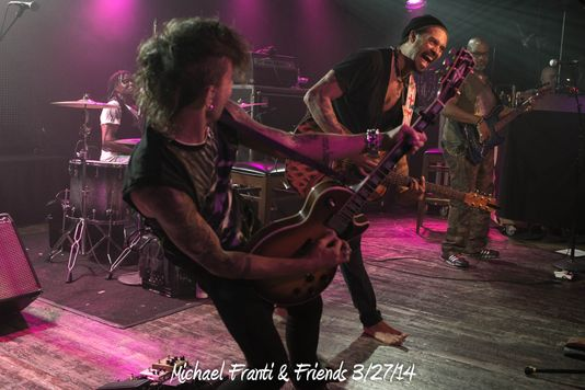 Michael Franti & Friends 3/27/14