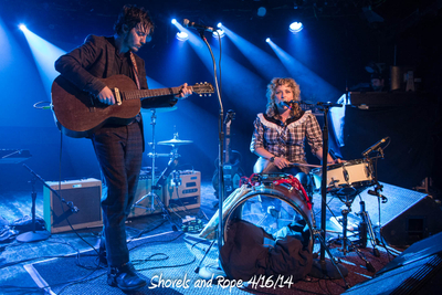 Shovels and Rope 4/16/14