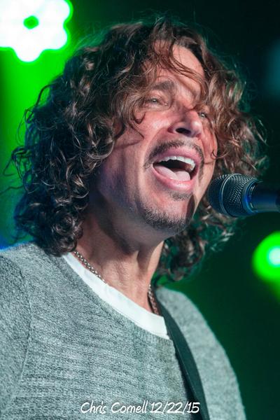 Chris Cornell 12/22/15