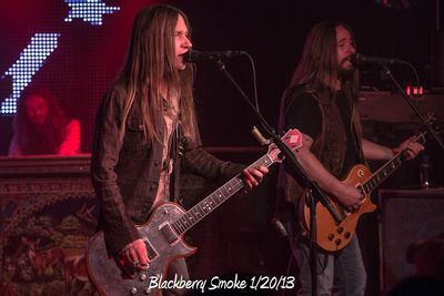 Blackberry Smoke 1/20/13