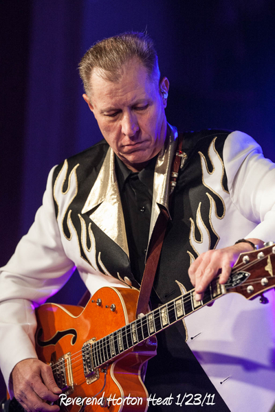 Reverend Horton Heat 1/23/11