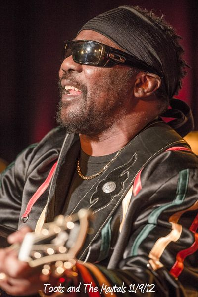 Toots and The Maytals 11/9/12
