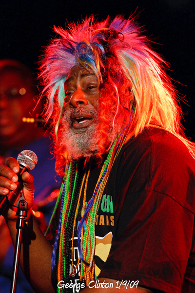 George Clinton 1/9/09