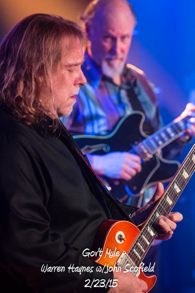 Gov't Mule with John Scofield