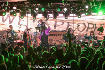 Thievery Corporation 7/3/16