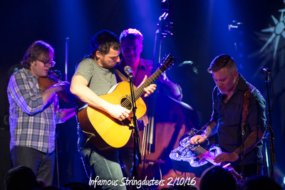 Infamous Stringdusters 2/10/16
