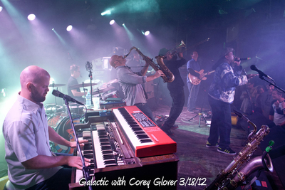 Galactic with Corey Glover 3/18/12