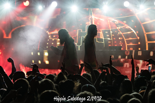 Hippie Sabotage 2/19/18