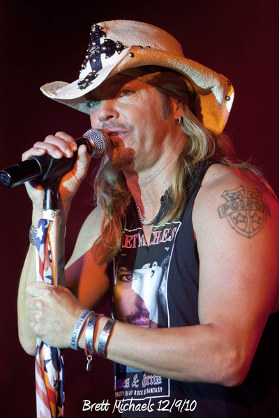 Brett Michaels 12/9/10