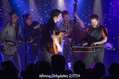 Infamous Stringdusters 2/17/14