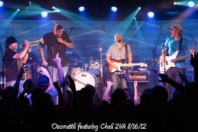 Ozomattli featuring Chali 2NA 8/16/12
