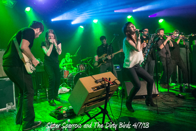 Sister Sparrow and The Dirty Birds 4/7/13