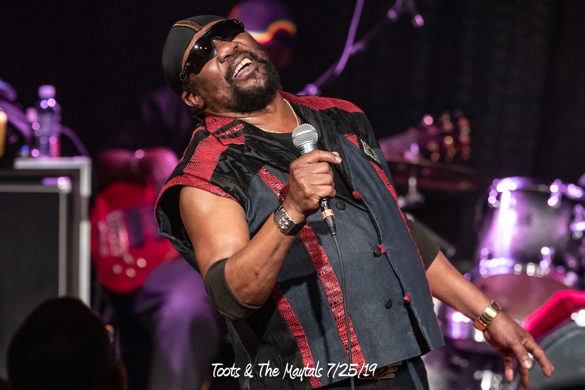 Toots & The Maytals 7/25/19