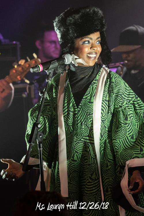 Ms. Lauryn Hill 12/26/18