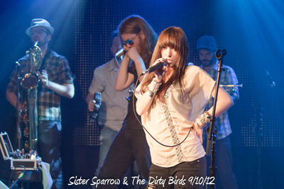 Sister Sparrow & The Dirty Birds 9/10/12