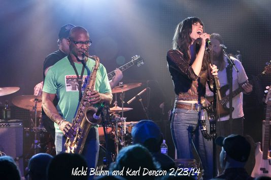 Nicki Bluhm and Karl Denson 2/23/14