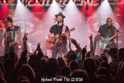 Michael Franti Trio 12/8/16