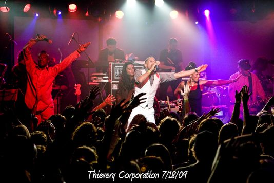 Thievery Corporation 7/18/09