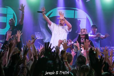 Jurassic 5 7/4/14