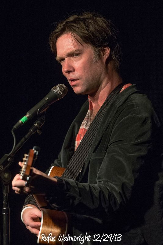 Rufus Wainwright 12/29/13