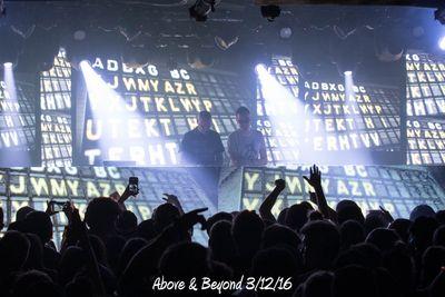 Above & Beyond 3/12/16
