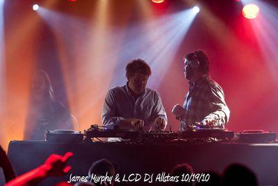 James Murphy & LCD DJ Allstars 10/19/10
