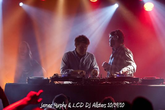 James Murphy & LCD DJ Allstars 10/19/10