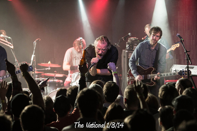 The National 1/3/14