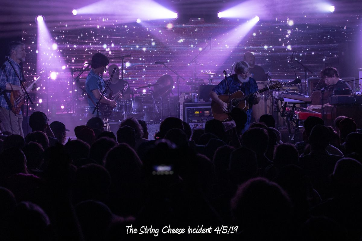 String Cheese Incident  4/5/19