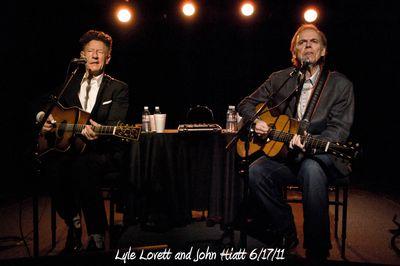 Lyle Lovett and John Hiatt 6/17/11