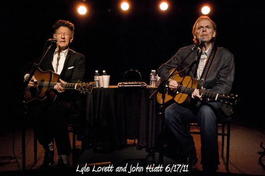 Lyle Lovett and John Hiatt 6/17/11