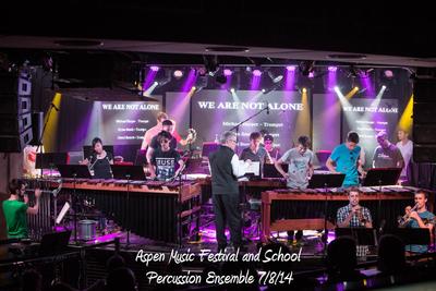 AMFS Percussion Ensemble 7/8/14