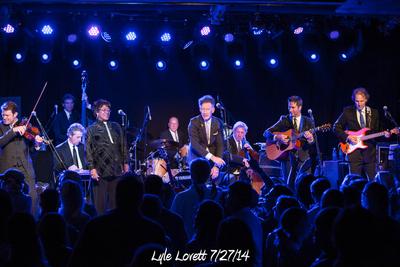 Lyle Lovett 7/27/14