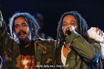 Stephen Marley & Jr. Gong 4/8/07