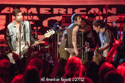 All American Rejects 1/27/12