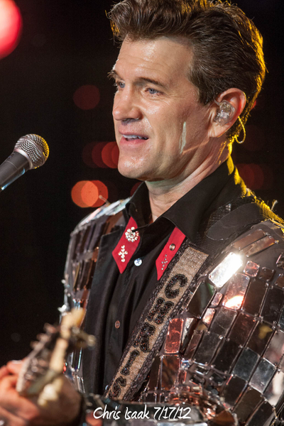 Chris Isaak 7/17/12