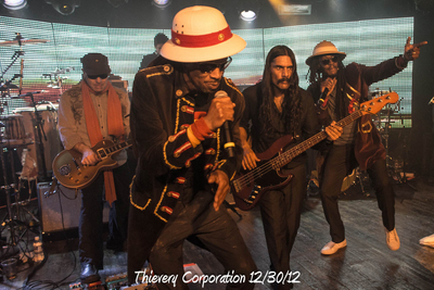 Thievery Corporation 12/30/12
