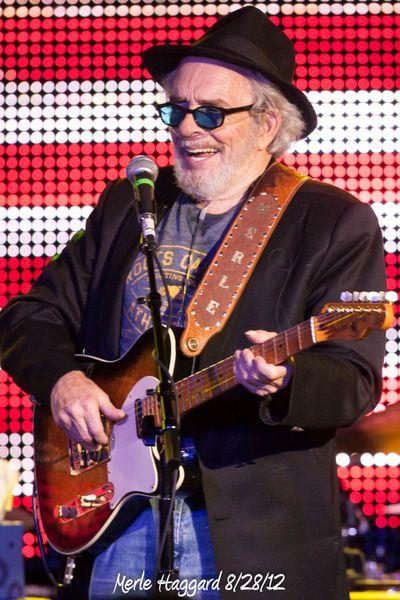 Merle Haggard 8/28/12